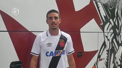 Thiago Galhardo manda recado para a torcida do Vasco