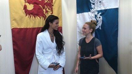Bruna Marquezine e Fernanda Nobre conversam sobre 'Deus Salve o Rei'