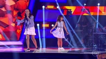 Maria Clara e Mariana cantam 'Trevo'