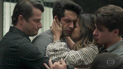 Júlio, Sandra Helena, Agnaldo e Malagueta recebem a sentença pelo roubo do hotel