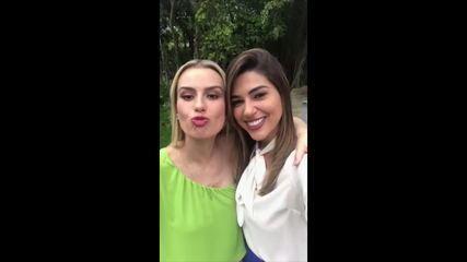 Fernanda Keulla e Vivian Amorim serão repórteres do BBB18