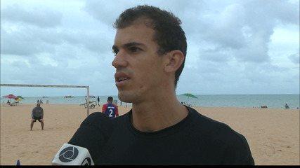 Atleta do futebol de areia Reyder espera um 2018 de mais conquistas