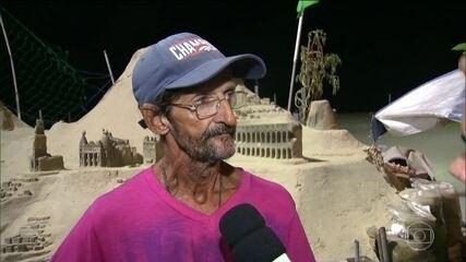 Testemunhas narram como foi acidente na praia de Copacabana
