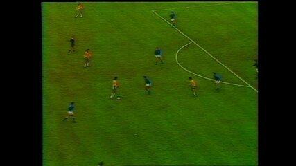 Copa de 1978 - Brasil x Itália gol de Nelinho