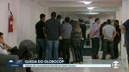 Corpo do comandante que pilotava Globocop é velado no Centro do Recife