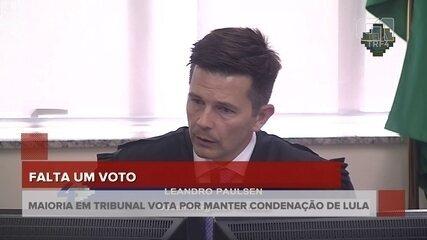 Leandro Paulsen mantém as duas condenações de Lula e diz que adere ao voto do relator