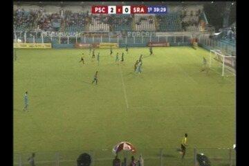 Em jogada trabalhada, Pedro Carmona marca segundo gol do Paysandu contra o São Raimundo-PA