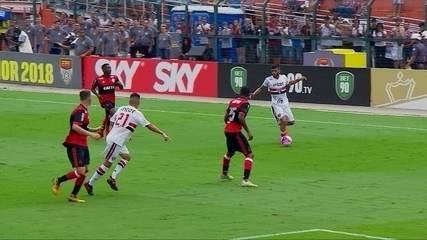 Melhores momentos de São Paulo 0 x 1 Flamengo pela Final da Copa SP de Futebol Júnior