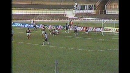 Pelo Campeonato Mineiro de 1994, Atlético-MG goleia o Patrocinense por 4 a 0
