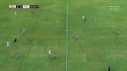 Veja os melhores momentos de Bahia 0 x 0 Fluminense de Feira