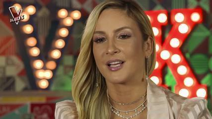 Claudia Leitte comenta seu time após quarto dia de Audições às Cegas do The Voice Kids