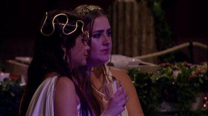 Ana Paula e Patrícia falam sobre Jaqueline e Breno