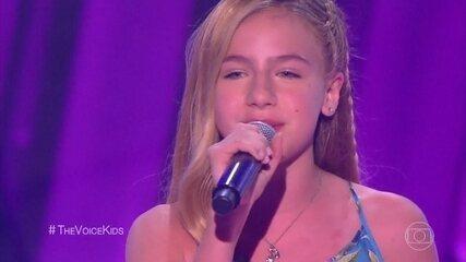 Nicolle Castro canta 'Tudo Pode Mudar' em sua estreia no programa
