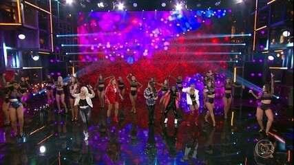 Rouge canta novo sucesso 'Bailando'