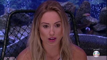 Segundo Paredão: Jéssica vota em Ana Paula
