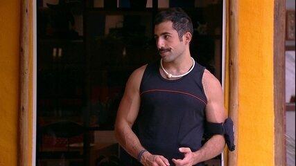 Kaysar para Mahmoud: 'Você não deveria ter dito que ia se vingar'