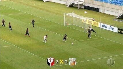 Santa Cruz vence Baraúnas por 2 a 0
