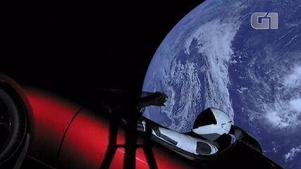 Tesla leva carro para o espaço