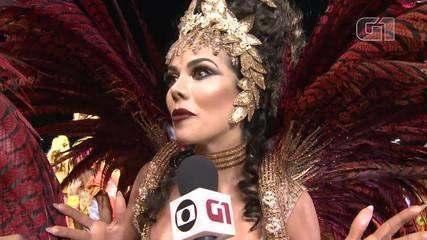 Daniela Albuquerque diz que Tucuruvi vai fazer desfile belíssimo