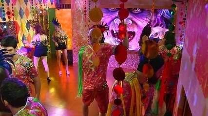 Começa a Festa Samba no segundo andar
