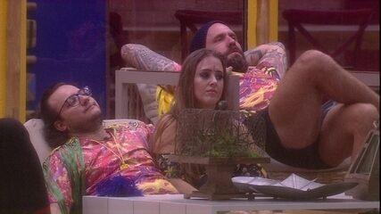 Diego revela a Patrícia motivo para não estar na Festa Samba
