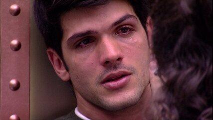 Diego aconselha Lucas: 'Você tem que impor limites'
