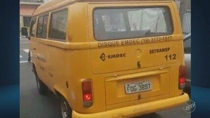 Funcionário da Emdec foi flagrado usando celular no trânsito