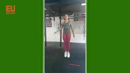 Eu Atleta: Rode a corda para pegar o ritmo