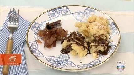 Café da manhã tem 'Omelete do Imperador'