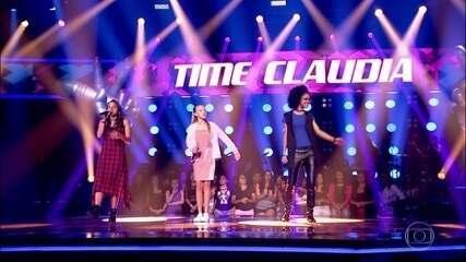 Fernanda Ouro, Morgana e Nicolle Castro cantam 'Dangerous Woman'