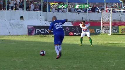 Paulinho bate falta, e Giva perde gol na pequena área