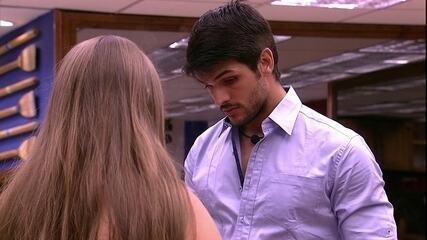 Lucas para Patrícia: 'Se for eu, Diego e Jéssica não é justo'