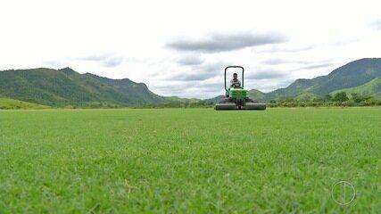 Maracanã vai receber novo gramado cultivado em Saquarema a partir de quinta-feira