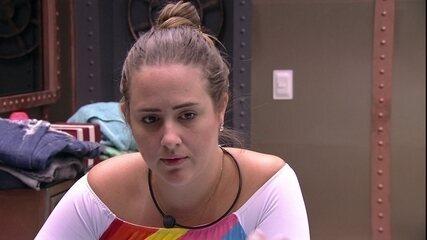 Patrícia volta a questionar Lucas: 'Você votaria em uma pessoa para proteger outra?'