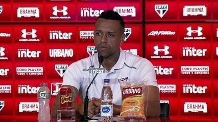 Veja a entrevista coletiva do goleiro Sidão, do São Paulo