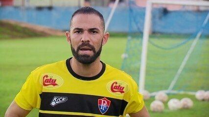 Paulo Renê, atacante do Paracatu, vem chamando atenção por fazer gols em todas as partidas