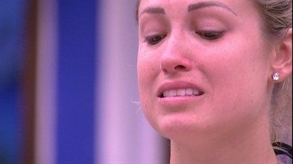 Jéssica chora ao som de Eu Sei, do Papas da Língua: 'Tudo pode acontecer'