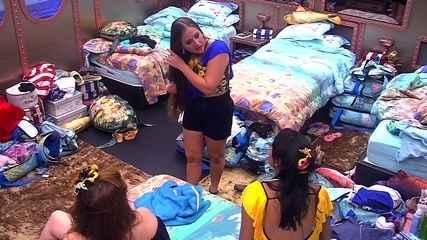 Patrícia fala sobre beijo em Kaysar: 'A gente está com medo'
