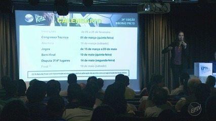 Congresso Técnico da Taça EPTV de Futsal reúne times inscritos em Ribeirão Preto