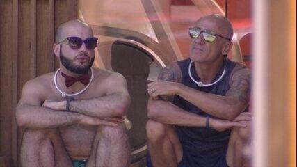Mahmoud sobre Jéssica: 'Fiquei muito decepcionado'