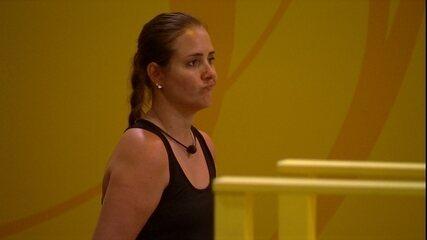 Patrícia e Caruso repercutem eliminação de dupla: 'Não pode brincar'