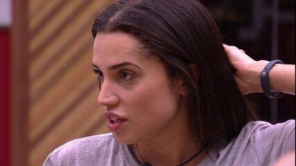 Paula explica eliminação de Caruso e Kaysar