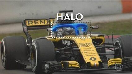 Confira os detalhes do halo, proteção para a cabeça dos pilotos que será adotada nesta temporada