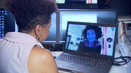 Atriz baiana Nabiyah Be, do filme Pantera Negra, fala sobre vida e carreira