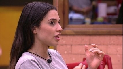 Paula fala sobre desistência de Diego e Patrícia em prova: 'Vou ter que aguentar'