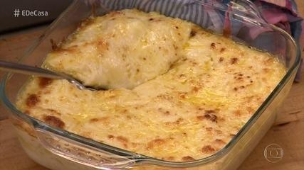 Toque do Ravioli: Chef faz receita com ingredientes encontrados na geladeira de Claudia
