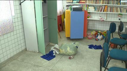 Escola pública do bairro do Centenário é alvo de bandidos