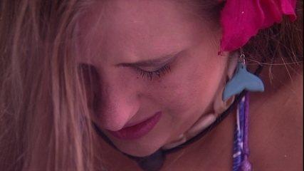 Patrícia chora com Kaysar: 'Sensação ruim. Não estou feliz'