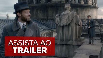 Assista ao trailer de 'Animais Fantásticos: Os crimes de Grindelwald