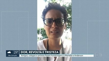 Amigos, colegas e artistas lamentam morte de Marielle Franco